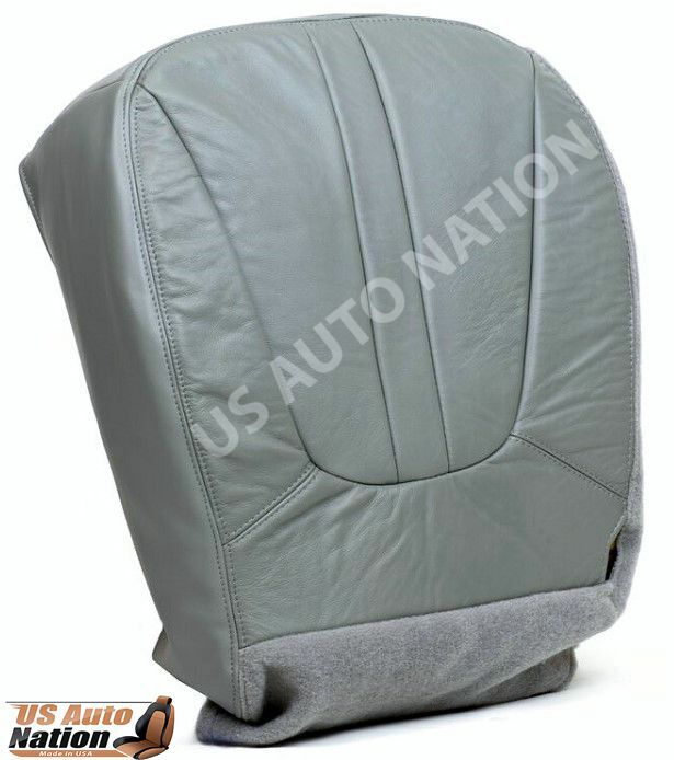 1997 1998 1999 2000 2001 ford expedition driver bottom leather seat cover gray ebay. Black Bedroom Furniture Sets. Home Design Ideas