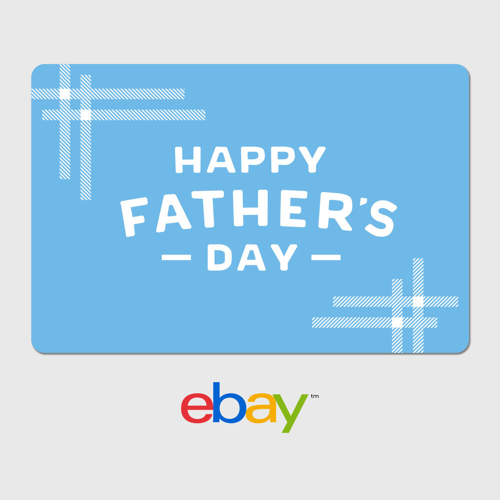 eBay Digital Gift Card - Happy Father's Day Designs ...