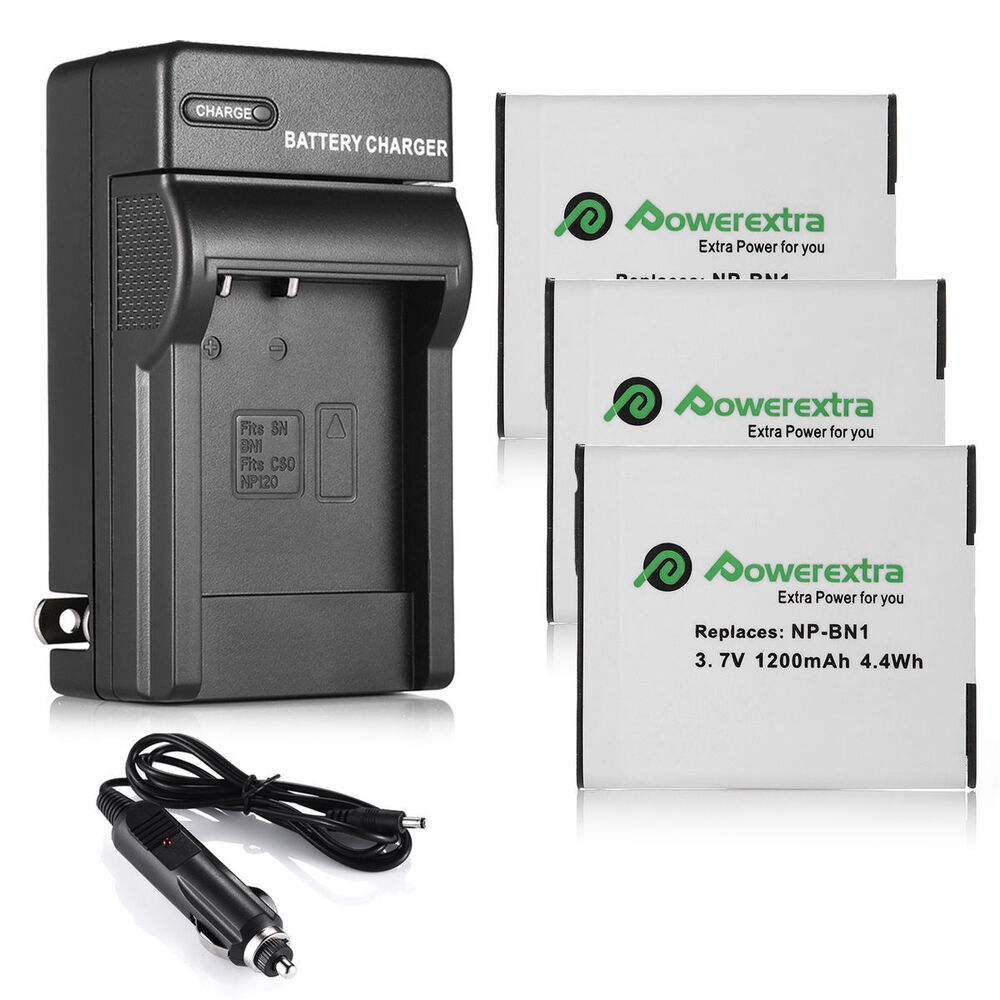 Np Bn1 Npbn1 N Type Battery Charger For Sony Cyber Shot