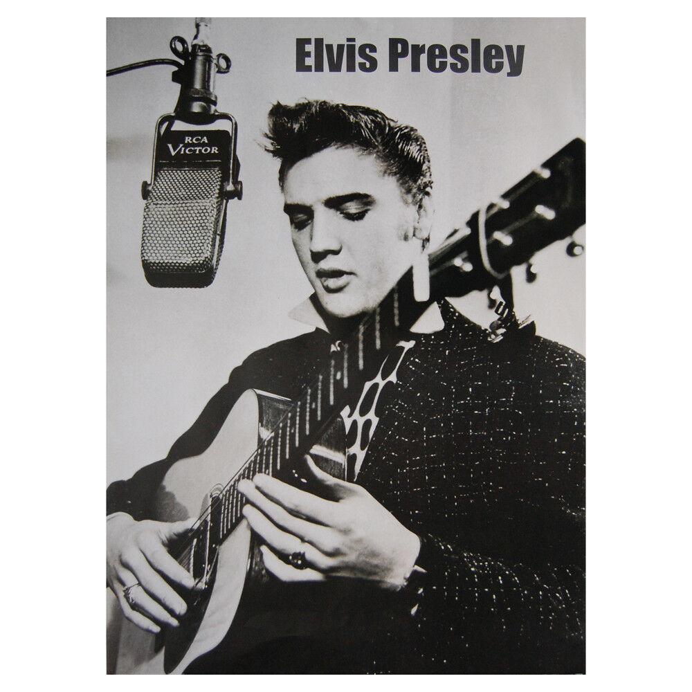 Elvis Presley - Recording A Song Poster - 610 X 860mm