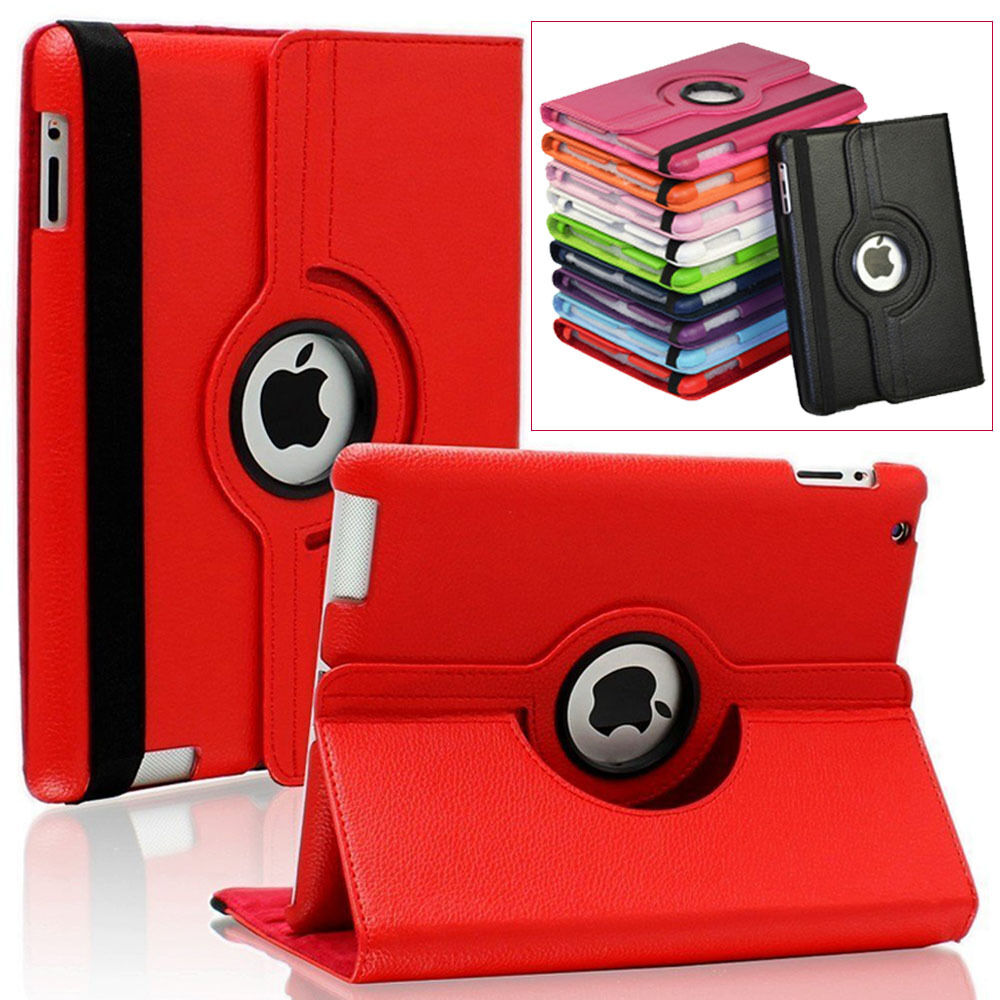 Apple Samsung Galaxy Tab Tablet Leather 360 Rotate Case