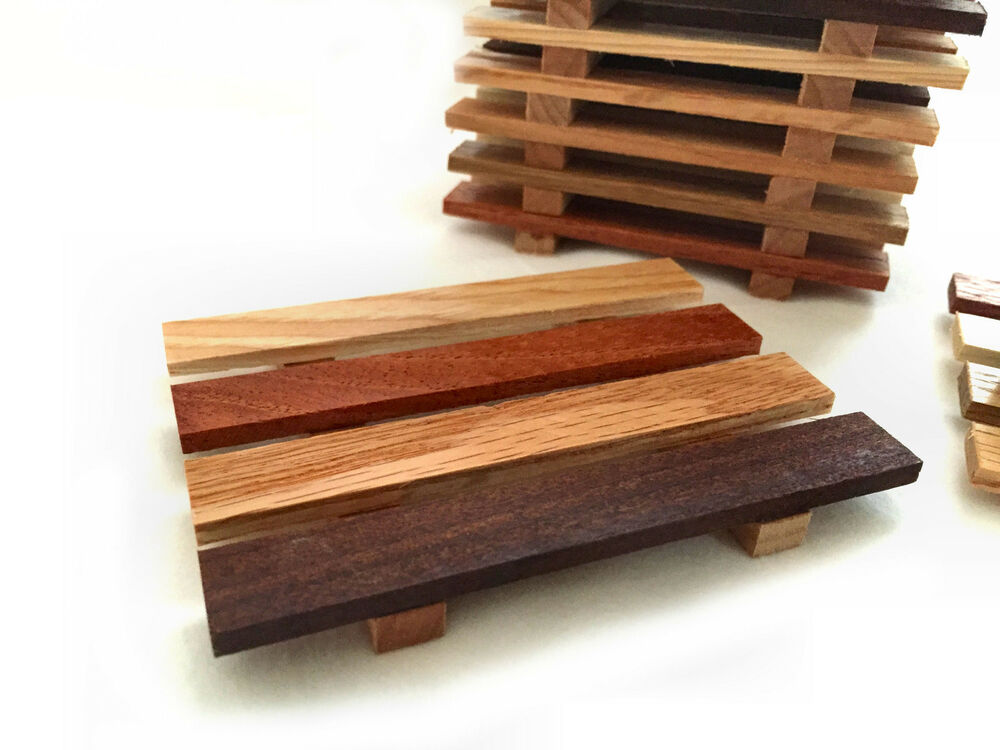 2 reclaimed wood soap dishes handcrafted in the portland for Reclaimed wood portland or