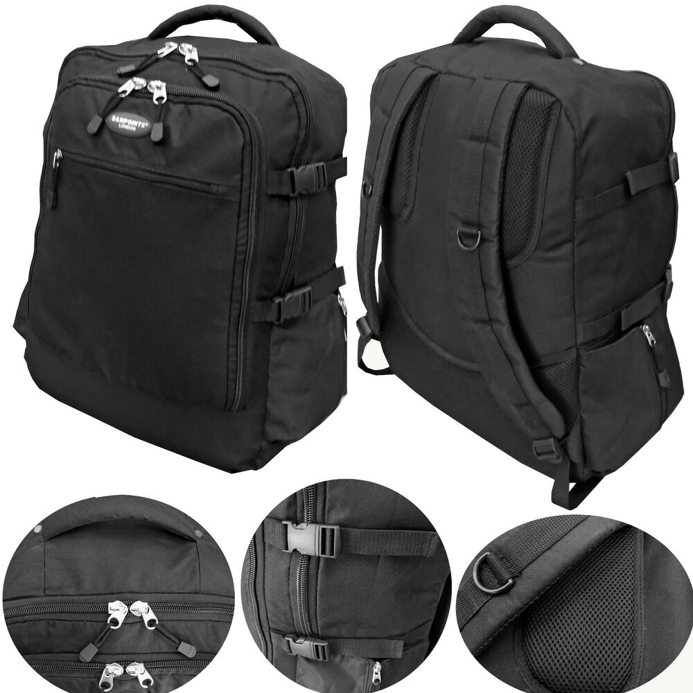 Cabin Approved Flight Travel Backpack Hand Luggage Bag ...