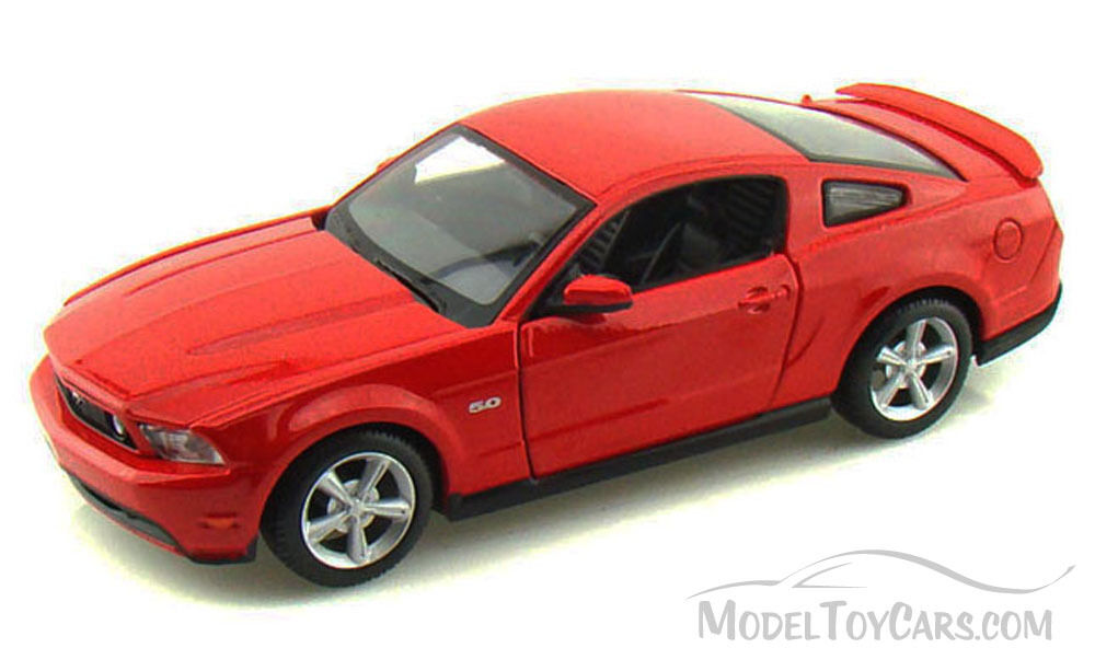ford mustang gt red maisto 34209 1 24 scale diecast. Black Bedroom Furniture Sets. Home Design Ideas