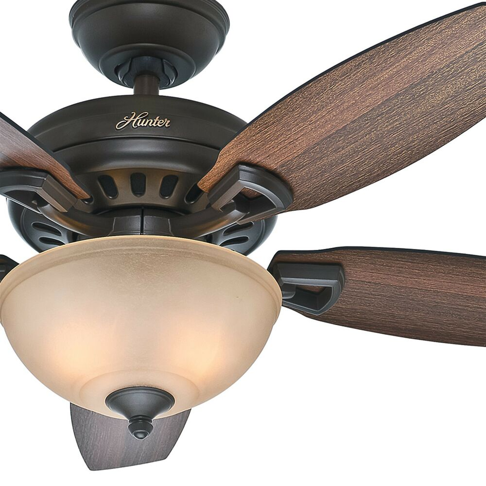 "Hunter 44"" New Bronze Ceiling Fan With Light"
