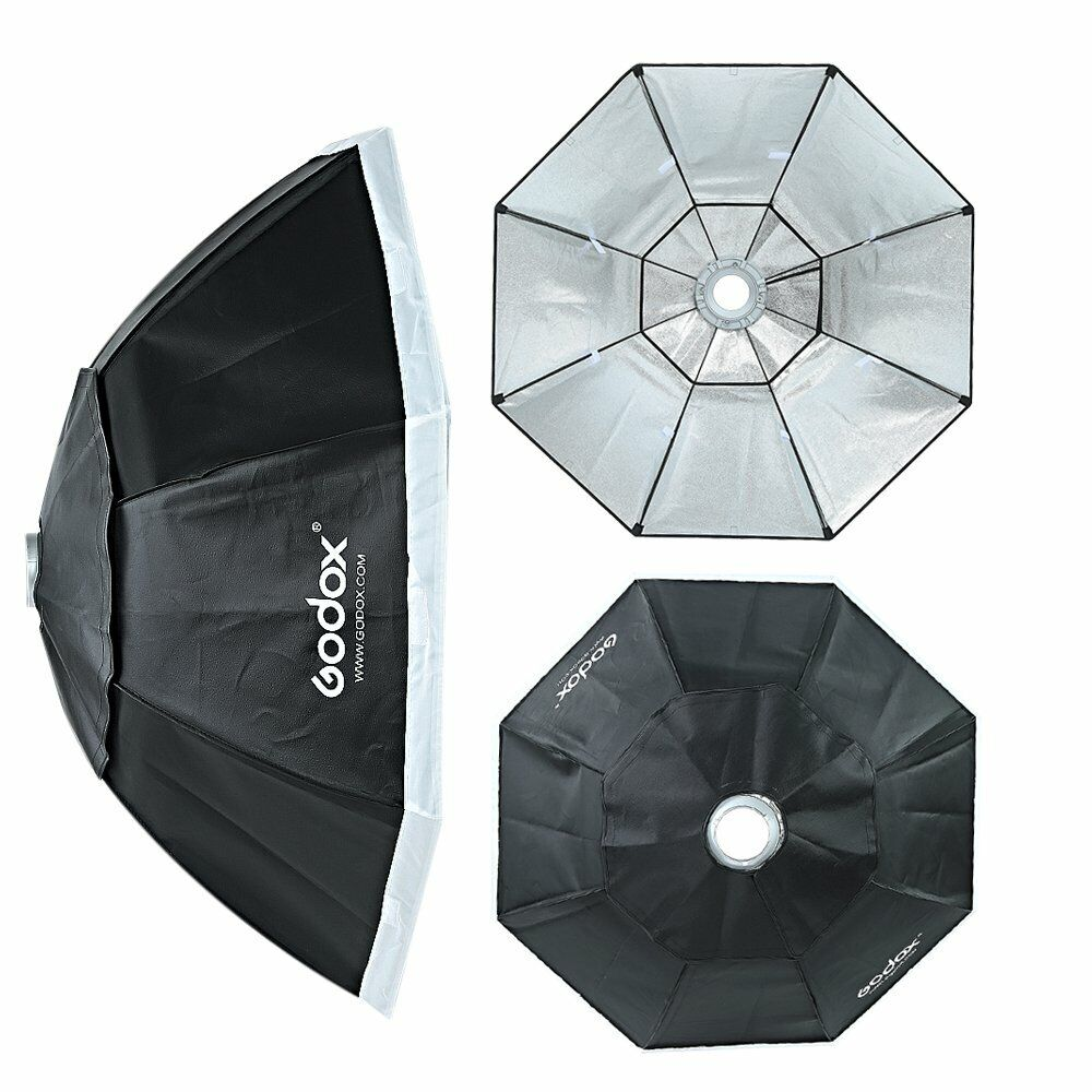 """37 Octagon Honeycomb Grid Softbox With Flash Mounting For: Godox Octagon Softbox 120cm 47"""" Bowens Mount For Studio"""