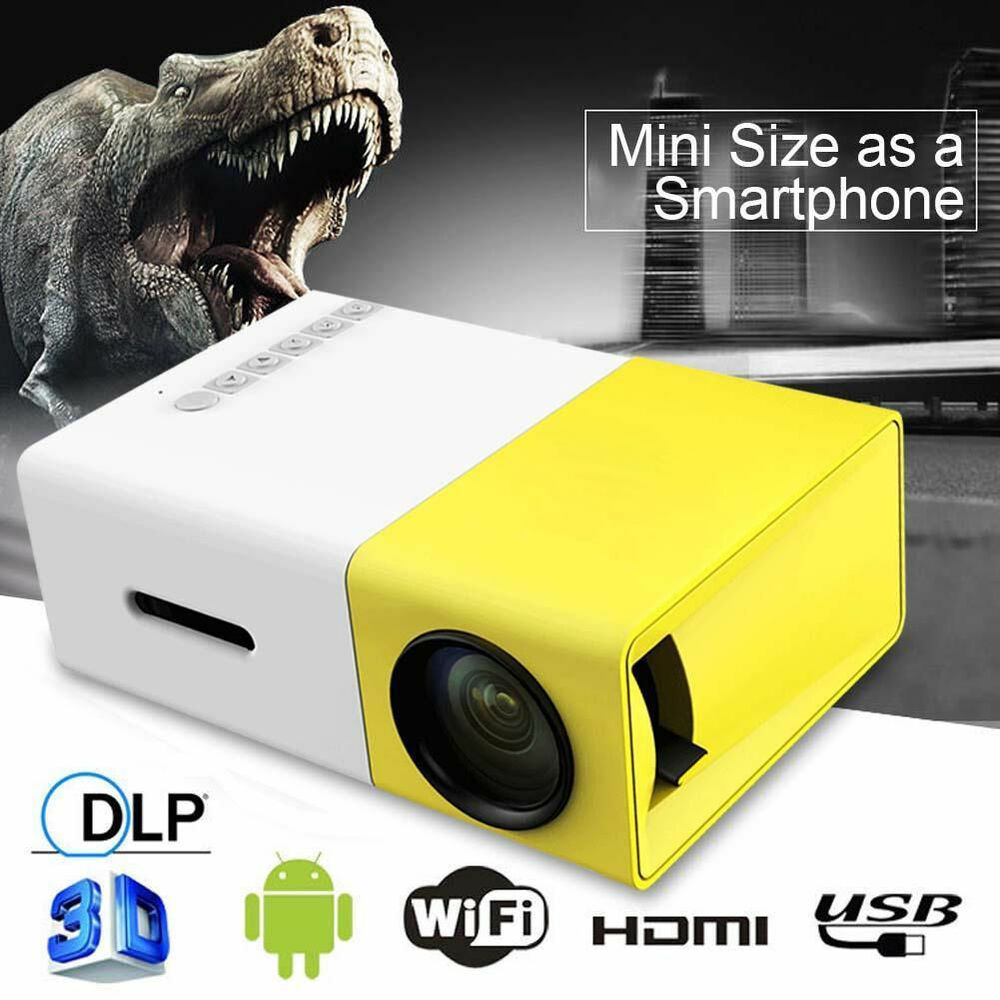 Mini portable yg300 projector multimedia pocket player for Hd pocket projector
