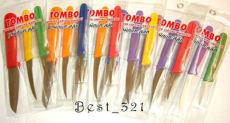 Tombo carving knives set fruit decoration knife