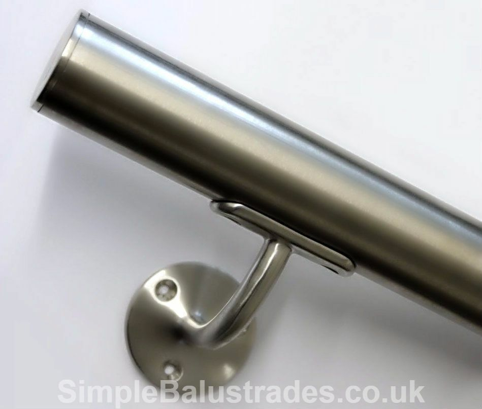 Stainless Steel Stair Handrail Quality Satin Brushed 304