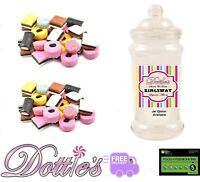 LIQUORICE ALLSORTS Pick n Mix Traditional Retro Sweets Wedding Party Choose Qty