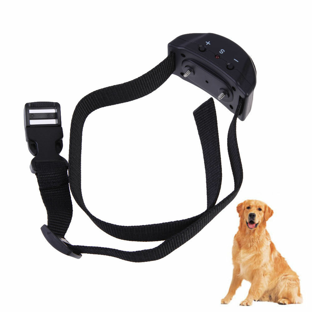 Anti Bark No Barking Tone Shock Control Training Collar
