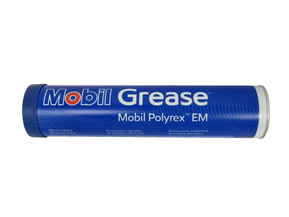 new mobil polyrex em electric motor bearing grease blue 13