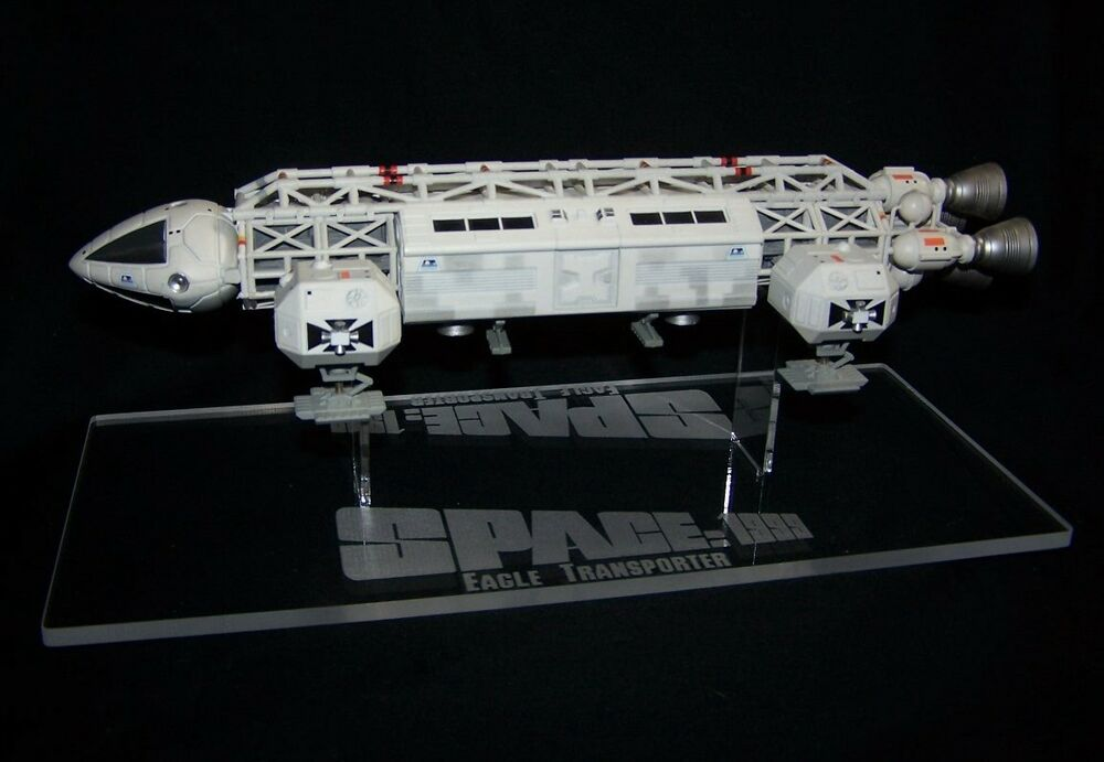"""acrylic display stand for 12"""" diecast & model Space 1999 ..."""