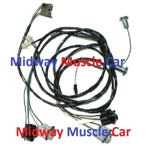 rear body tail light trunk wiring harness 70 71 72 73 chevy camaro ebay. Black Bedroom Furniture Sets. Home Design Ideas