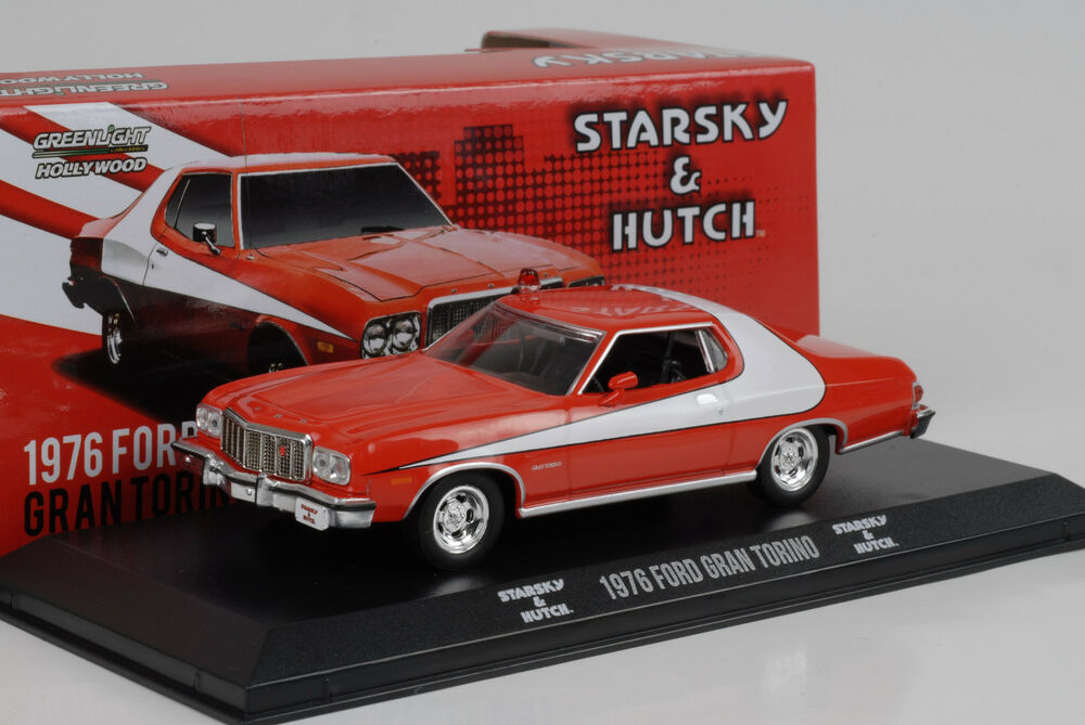 1976 ford gran torino starsky hutch movie 1 43. Black Bedroom Furniture Sets. Home Design Ideas