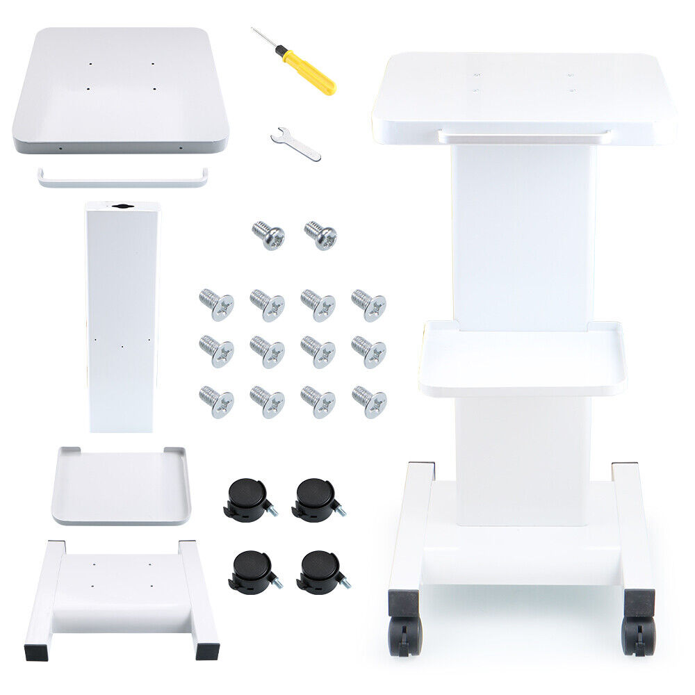 Beauty salon trolley display stand for salon use rolling for Salon stand