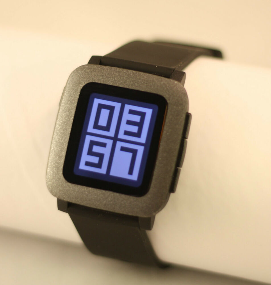 Pebble time watch skin sticker vinyl bezel protector glitter finish ebay for Pebble watches