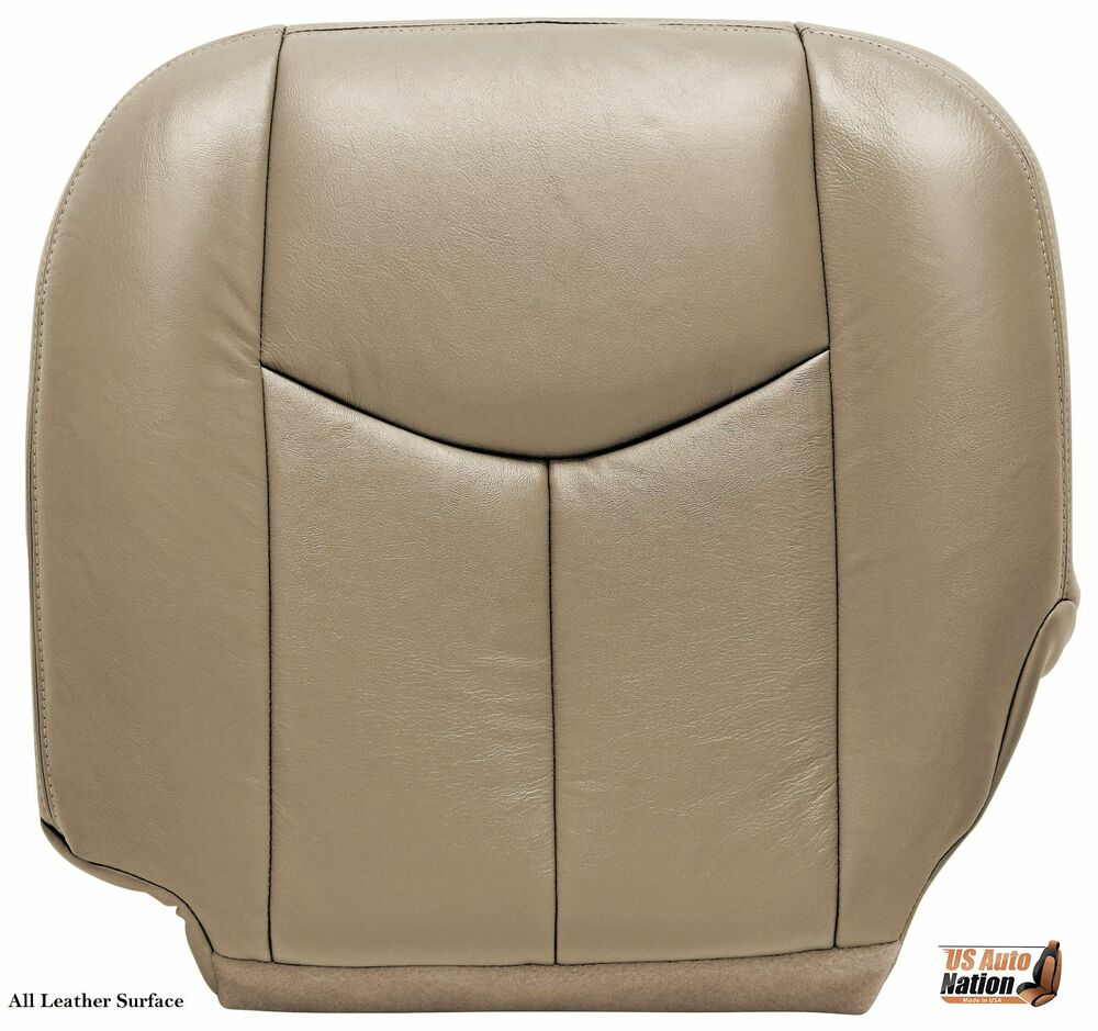 Gm Replacement Seat Covers : Chevy silverado driver bottom replacement leather