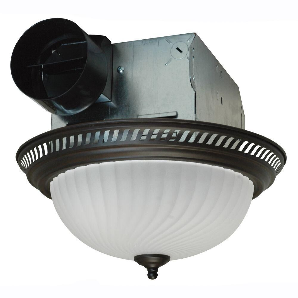 Kitchen Ceiling Exhaust Fan With Light: Ceiling Exhaust Fan Light Mount Bathroom Ventilation Bath