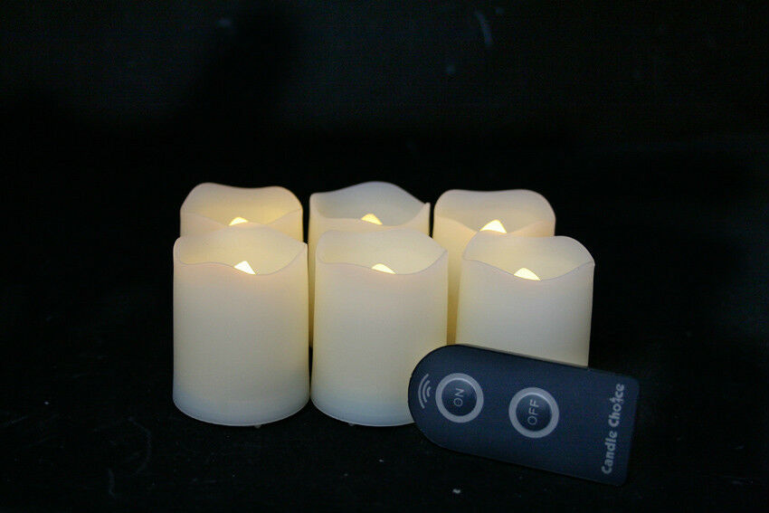flameless votive candles with remote 6pcs flameless votive candles with remote ebay 8947