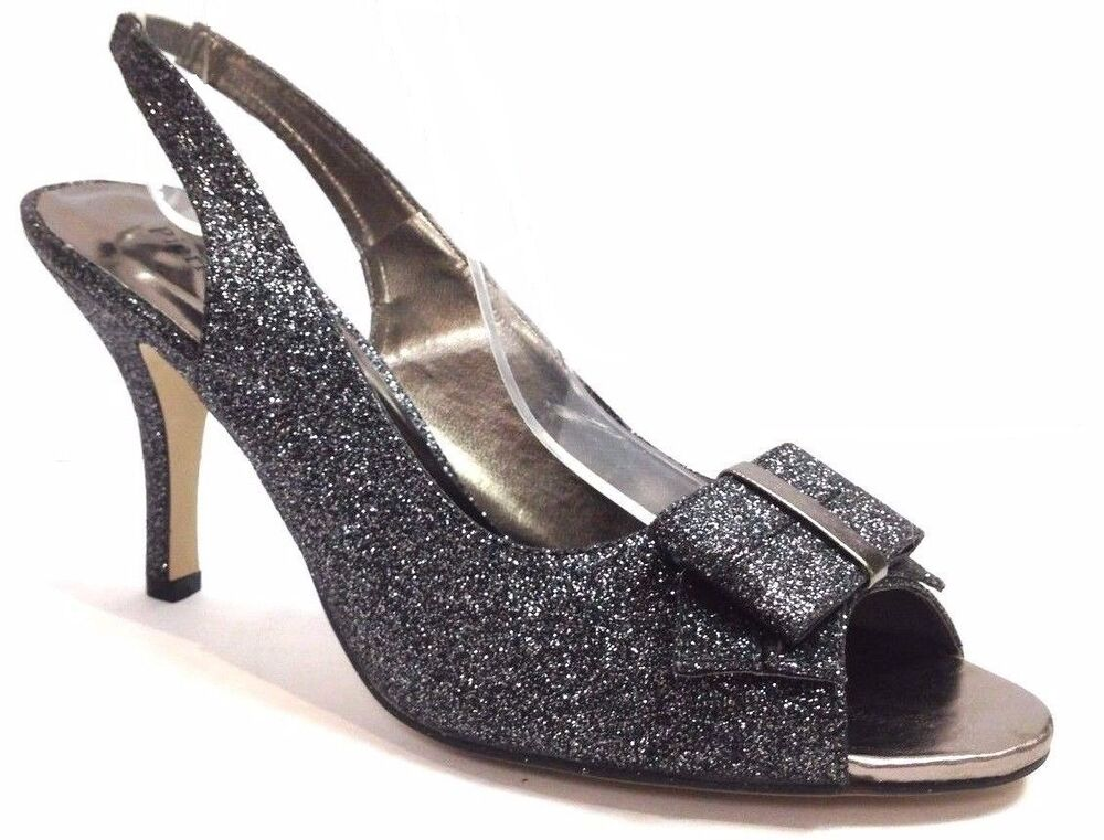 Pewter Party Shoes For Women