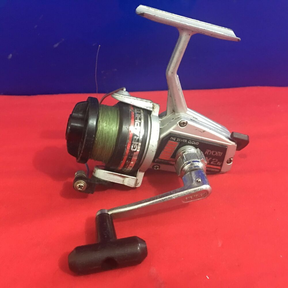 Vintage ryobi silver cloud sx2n spinning fishing reel made for Vintage fishing reels