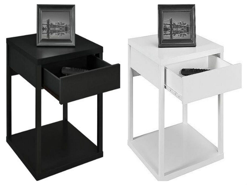 Nightstand drawer table furniture bedroom stand night for Bedroom table chairs