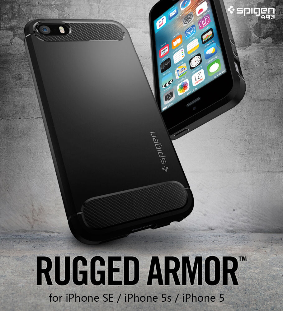 ebay iphone 5s original spigen rugged armor for iphone se iphone 1813