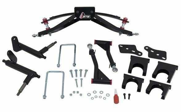 gtw 6 double a arm lift kit for club car precedent golf. Black Bedroom Furniture Sets. Home Design Ideas
