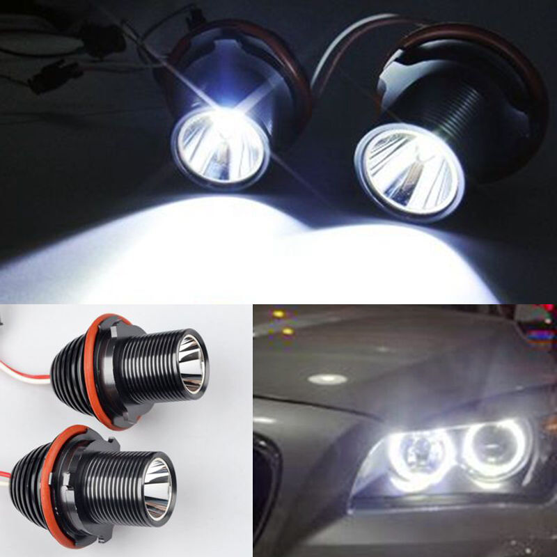 20w led canbus angel eyes standlicht scheinwerfer bmw e39. Black Bedroom Furniture Sets. Home Design Ideas