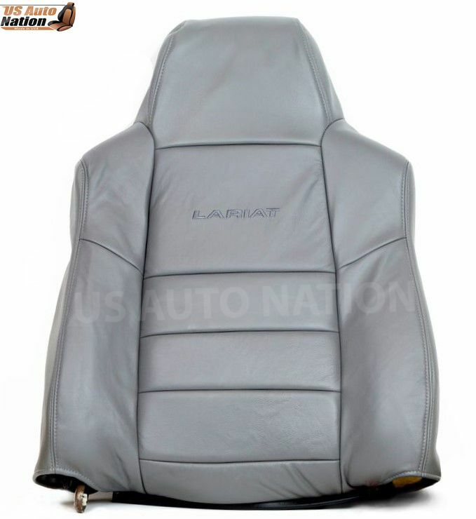 02 07 Ford F250 Lariat Driver Side Lean Back Leather Seat