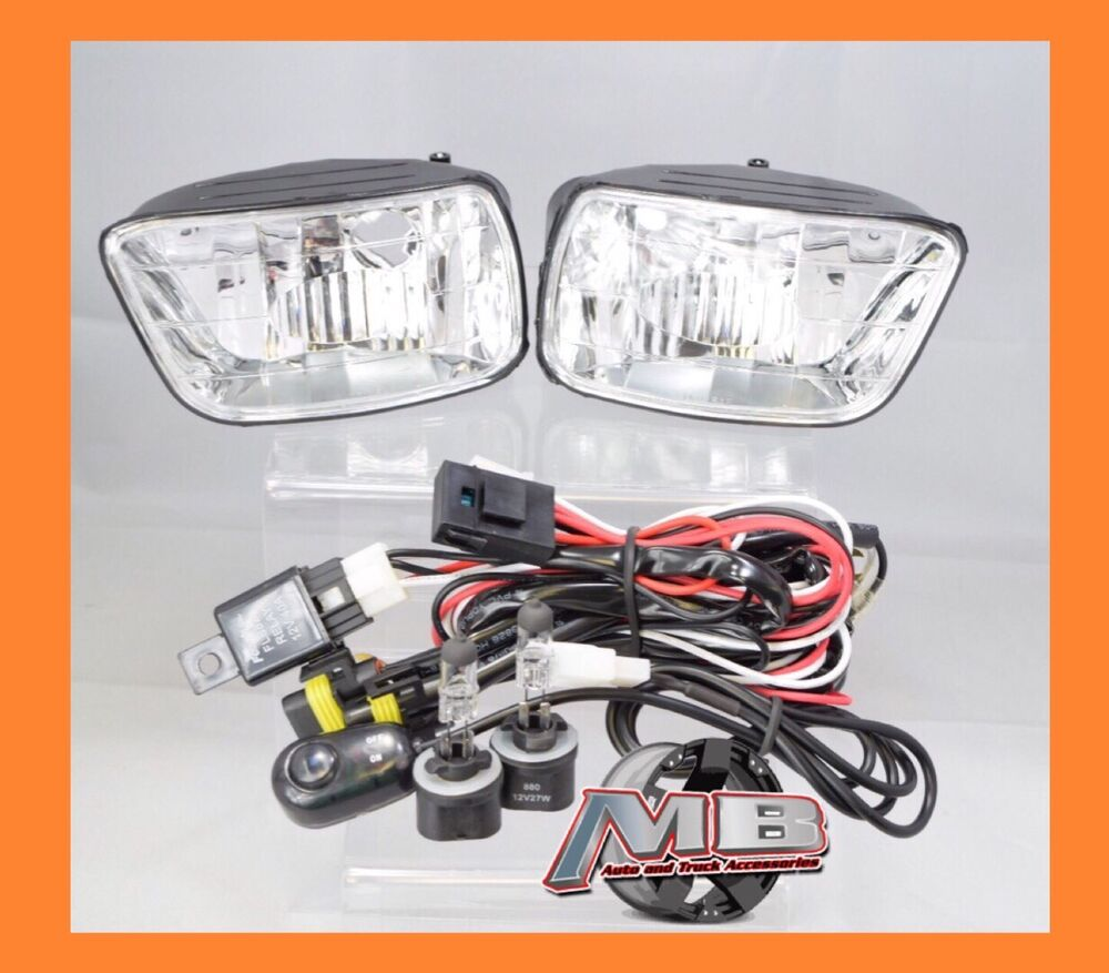 02 09 chevrolet trailblazer fog lights clear lens front Money Transfer Wire Transfer