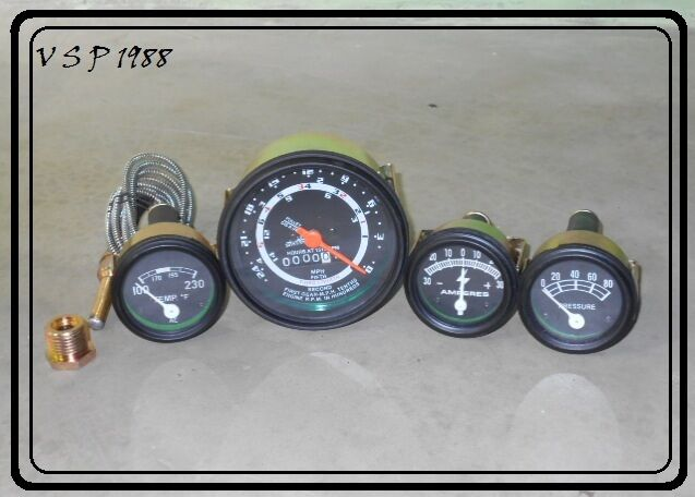 Heavy Equipment Gauges : New ford tractor  instrument gauge cluster