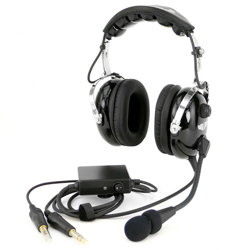 rugged air ra950 stereo anr general aviation pilot headset. Black Bedroom Furniture Sets. Home Design Ideas