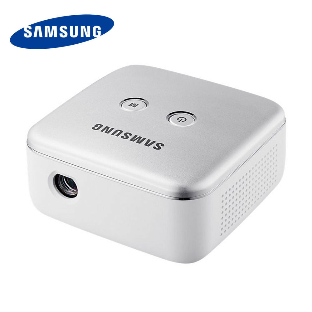 Samsung ssb 10dlfn08 smart beam led portable mini for Best portable smart projector