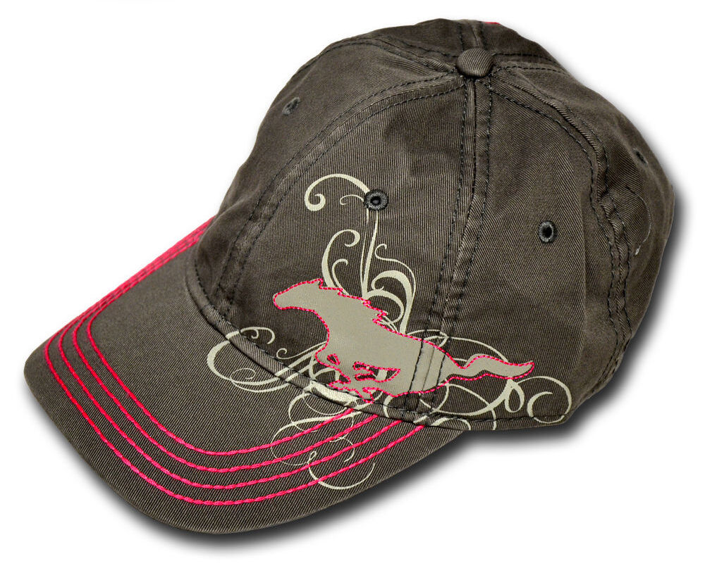 New Oem Ford Mustang Ladies Pink Baseball Hat Cap One
