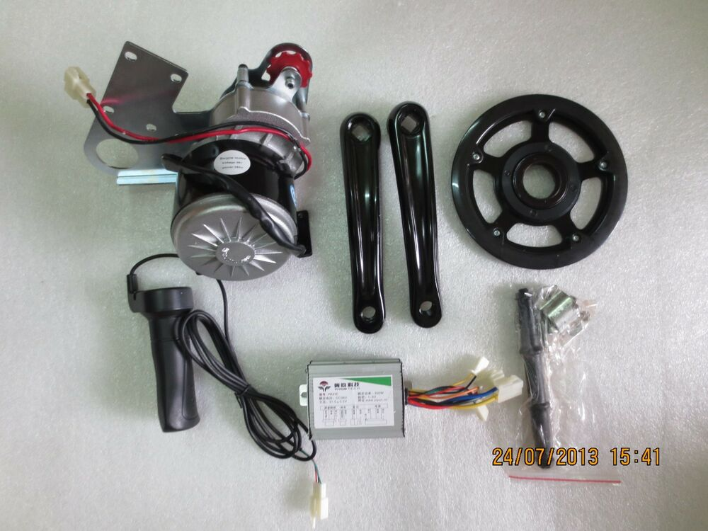 36v 350w Electric Motorized E Mid Drive Bike Conversion