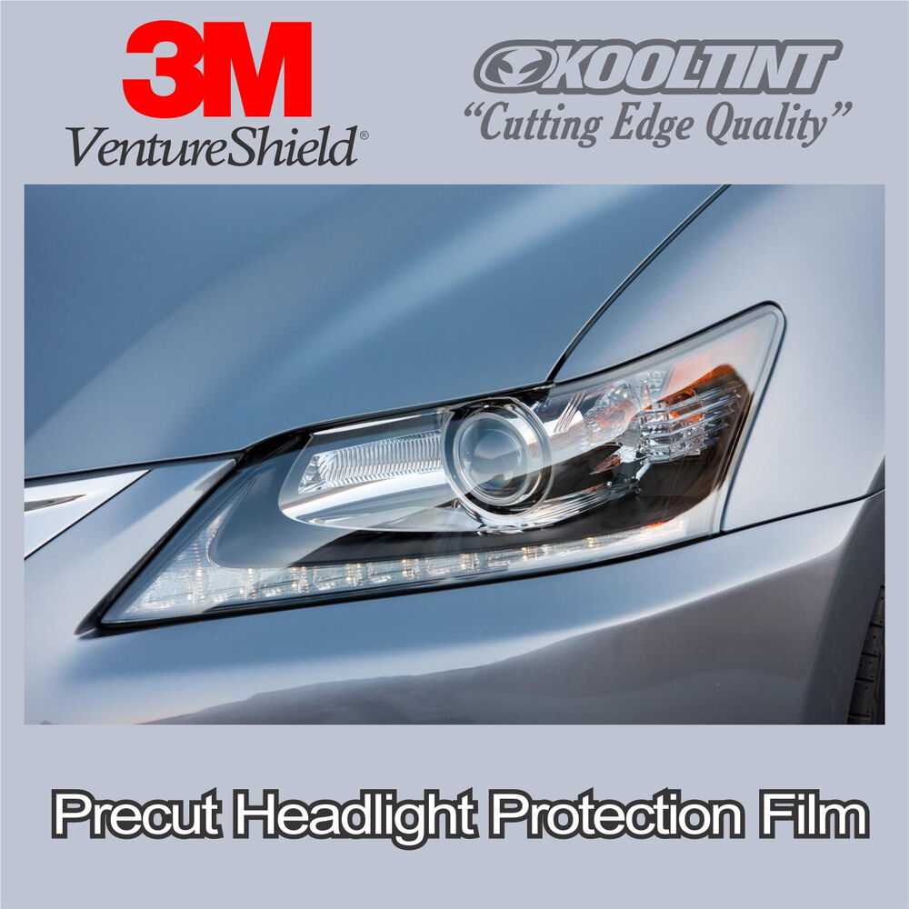 headlight protection film by 3m for 2013 2015 lexus gs350 and gs450h ebay. Black Bedroom Furniture Sets. Home Design Ideas