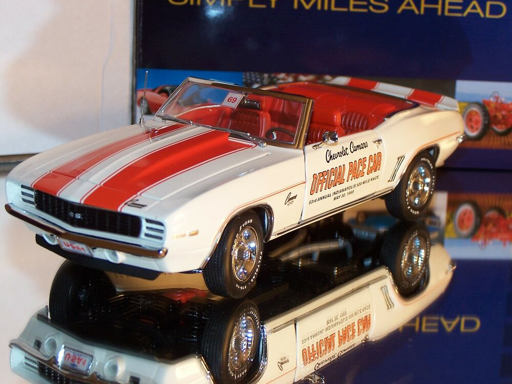 Franklin Mint 1969 Chevrolet Camaro Ss Indy 500 Official