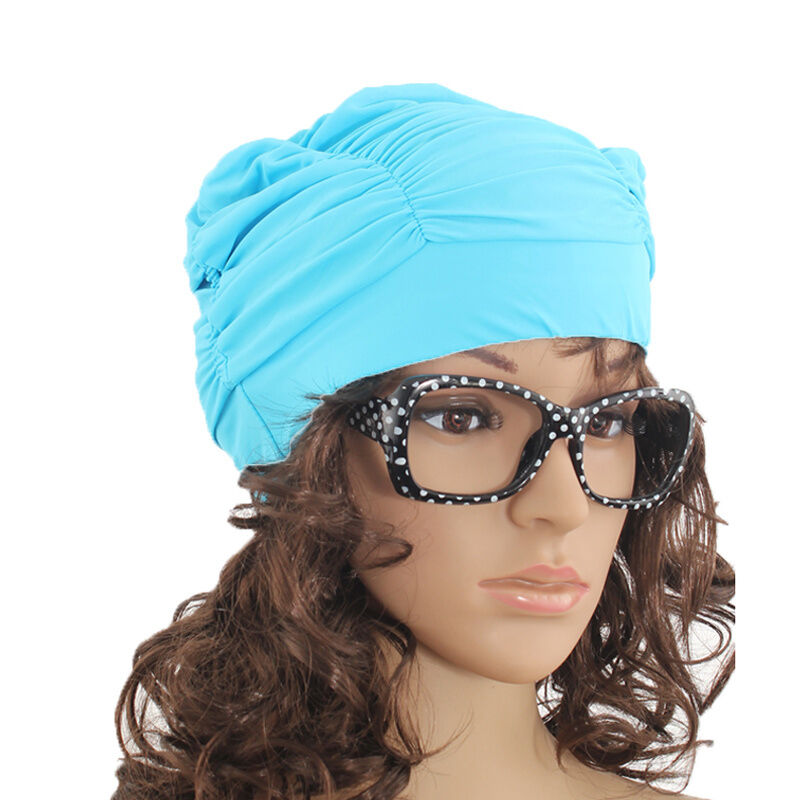 Elastic Swimming Cap Hat For Dreadlocks Long Hair Summer