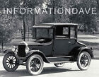 """The Model T Ford"" Repair & Maintenance Manuals + MORE - on disk"