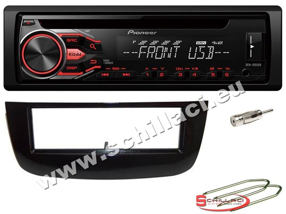 pioneer deh 1900ub autoradio cd usb kit montaggio per. Black Bedroom Furniture Sets. Home Design Ideas