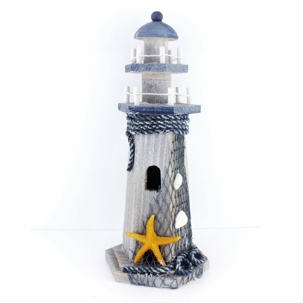 Starfish wooden lighthouse nautical themed rooms for House decoration items