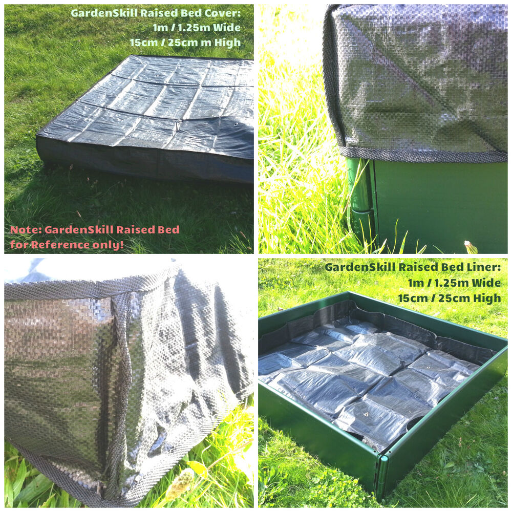 GardenSkill Raised Bed Liner Cover For Timber Or Plastic