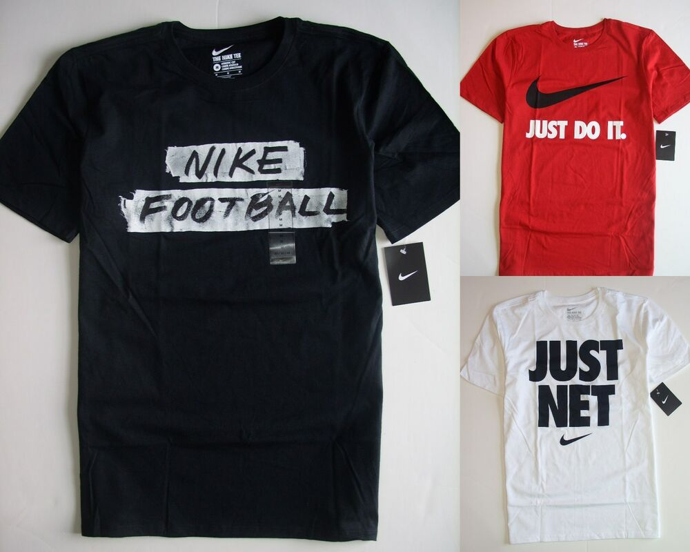 Men nike t shirt athletic cut assorted colors nwt ebay for Mens athletic cut shirts