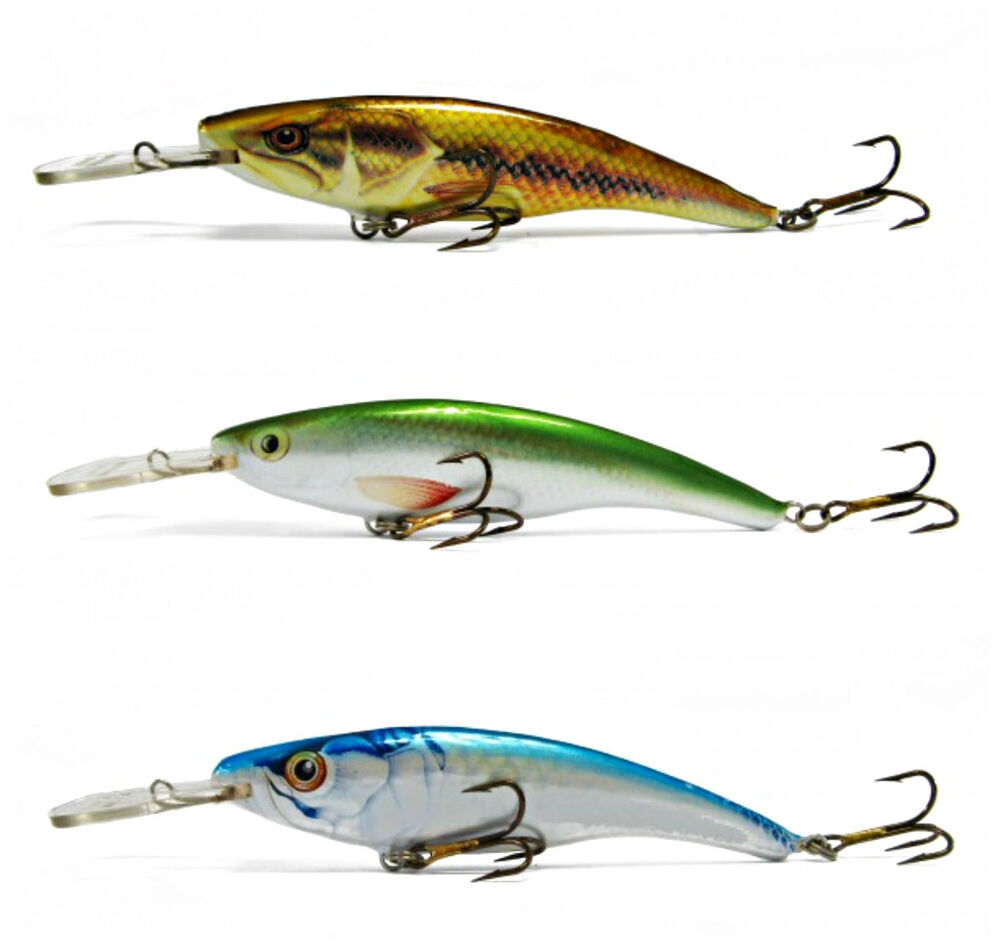 3 pcs ugly duckling lure 3 balsa wood best walleye lure for Walleye fishing tackle