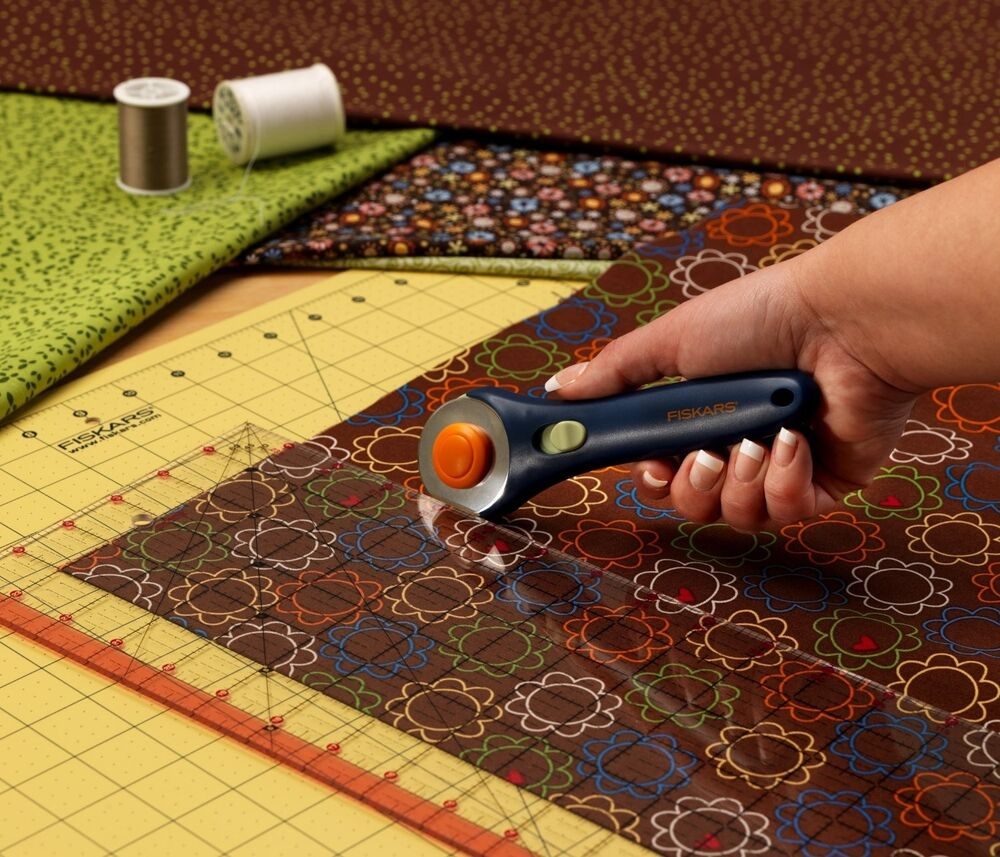 Rotary Cutter Large Cutting Mat Set Clear Acrylic Ruler