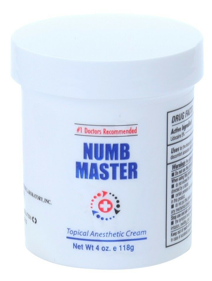 4 oz numb master 5 lidocaine liposmal fast for Lidocaine for tattoos