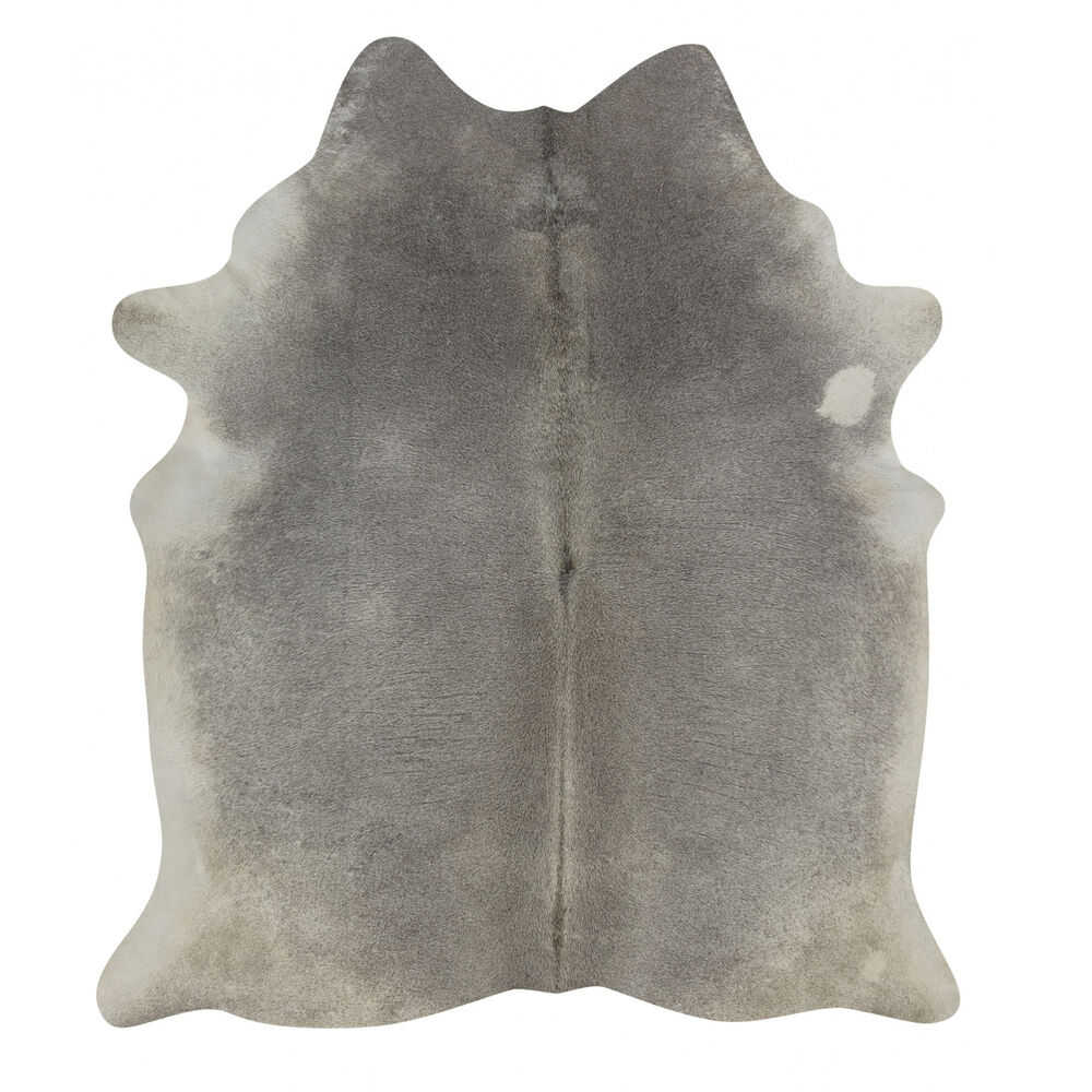 Exotic Grey Rodeo Cowhide Rug Xxxl Size Approx 6x8 Ft Ebay