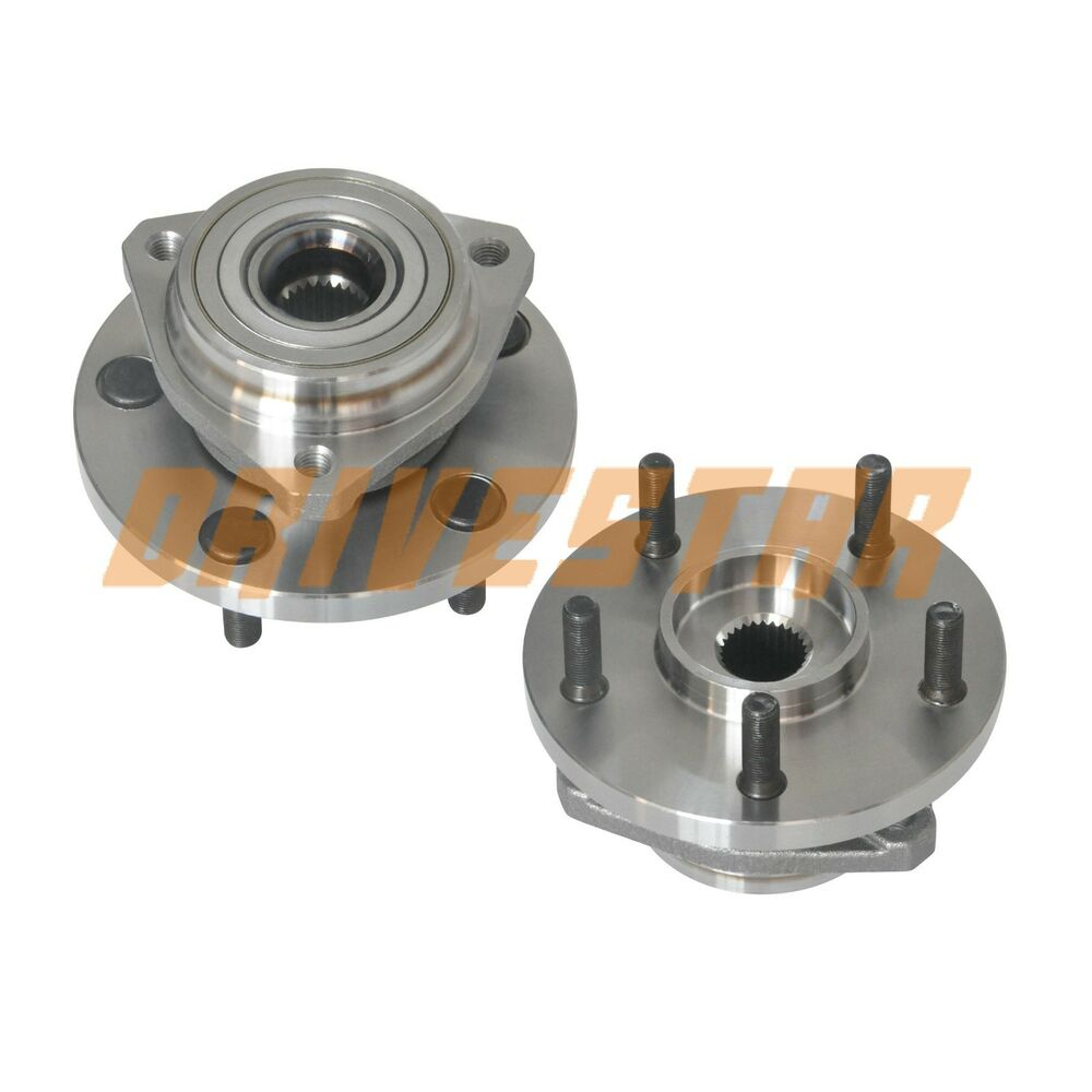 pair 2 new front wheel hub bearing assembly fits jeep. Black Bedroom Furniture Sets. Home Design Ideas